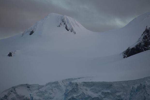 Gorgeous ski terrain in Antarctica.