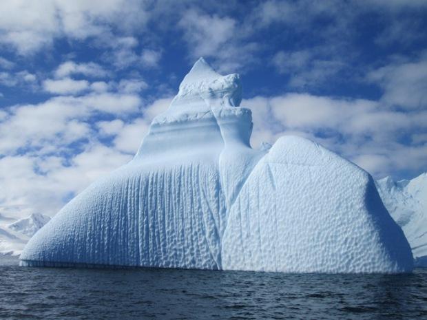 Gorgeous Iceberg in Antarctica's Chiriguano Bay, Brabant Isle. photo: Ariana Snowdon