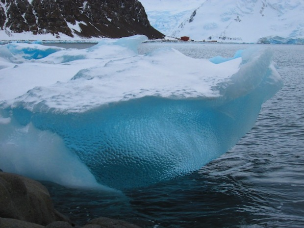 Stellar cupped blue ice in Antarctica. photo: Ariana SnowdonStellar cupped blue ice in Antarctica. photo: Ariana Snowdon