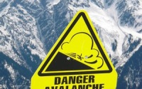 Avalanche-Danger-Sign