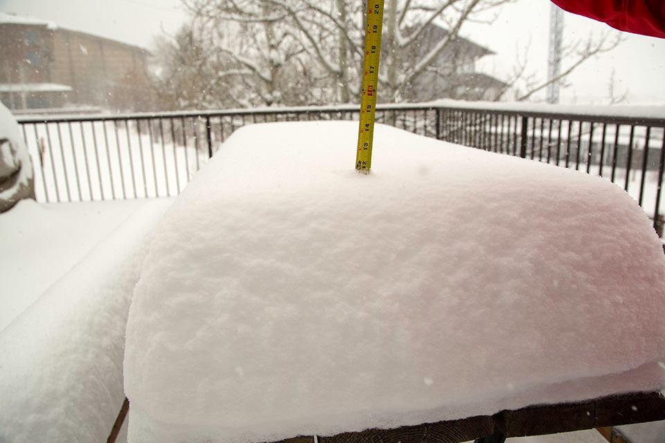 New snow overnight for Jackson