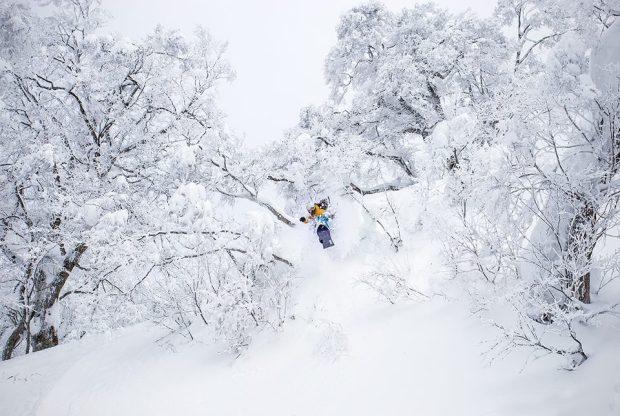 December 24th, 2014.  Nozawa Onsen, Japan.  photo:  Powdermania