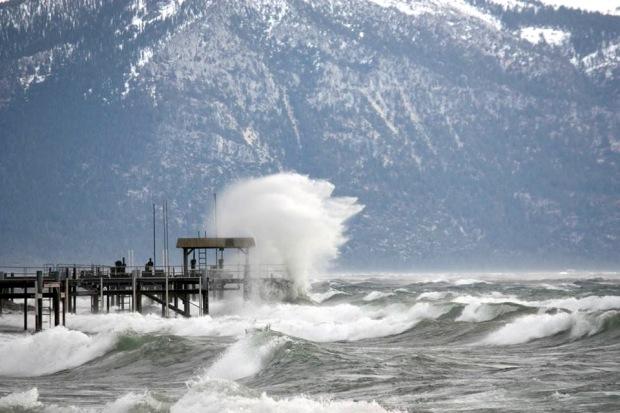 Lake Tahoe today.  photo:  fox 40