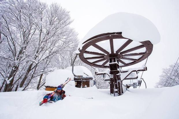 December 18th, 2014.  Nozawa Onsen, Japan.  photo:  Powdermania