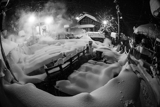 December 25th, 2014.  Nozawa Onsen, Japan.  photo:  Powdermania