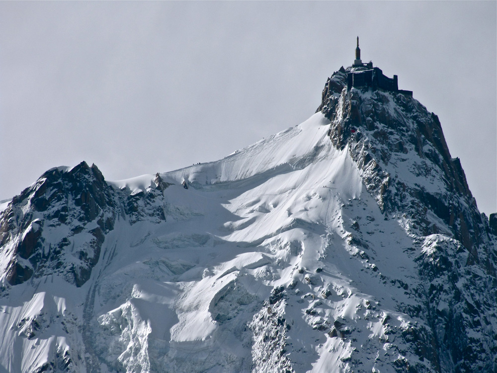 Aiguille du Midi, Chamonix, France. photo: Felix Hentz