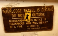 No Interlodge travel permitted