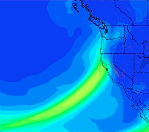 Severe storm headed to NorCal this week.