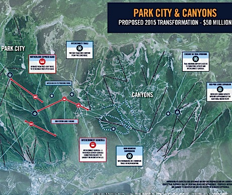 Park City and Canyons will connect