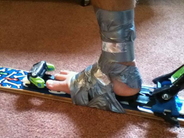 ski boots?