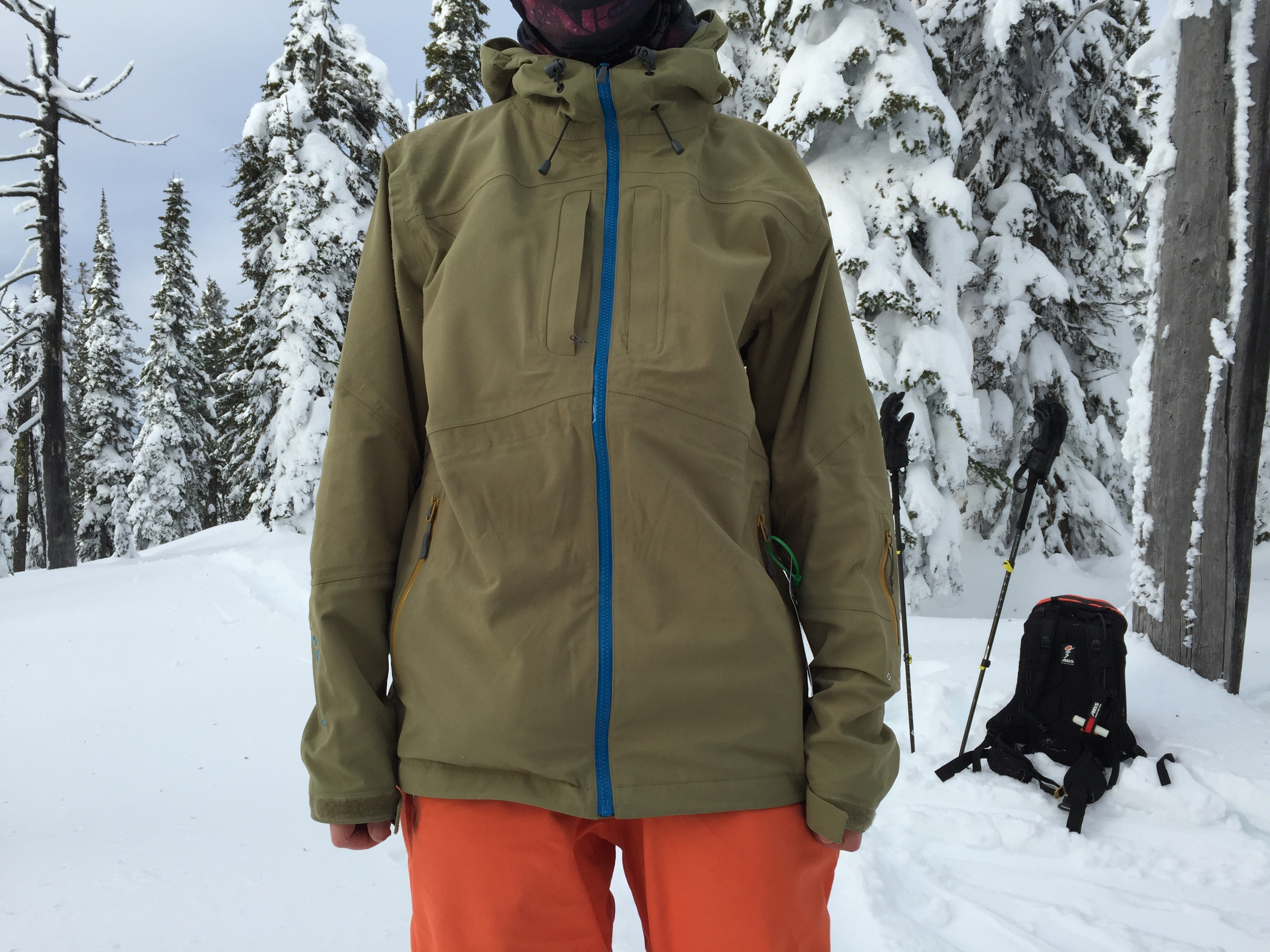 Relaxed fit of Quantum Pro Jacket.
