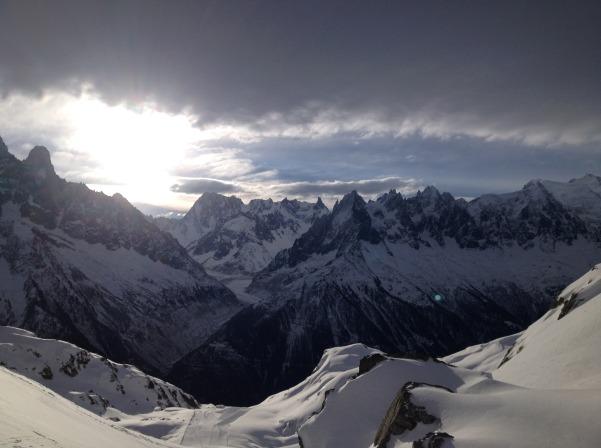 Big Mountains of Chamonix