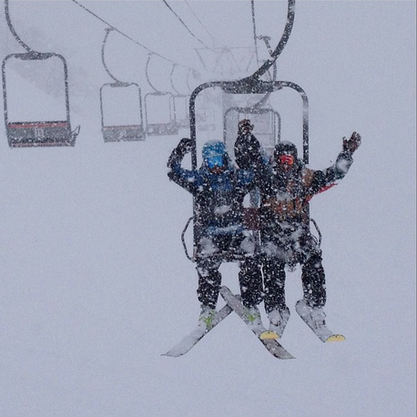 January chair rides were memorable this year.  photo:  snowbrains
