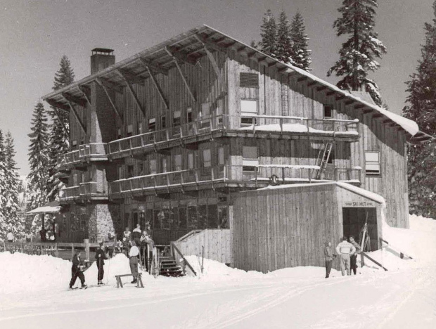 The Sugar Bowl Lodge shortly after completion in 1939.