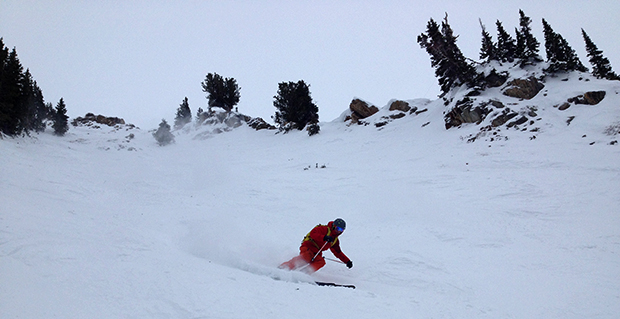 High Boy was where the chalk, and occasional pow, was at