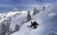 Hip deep skiing - Foto courtesy of Intothewhite.at