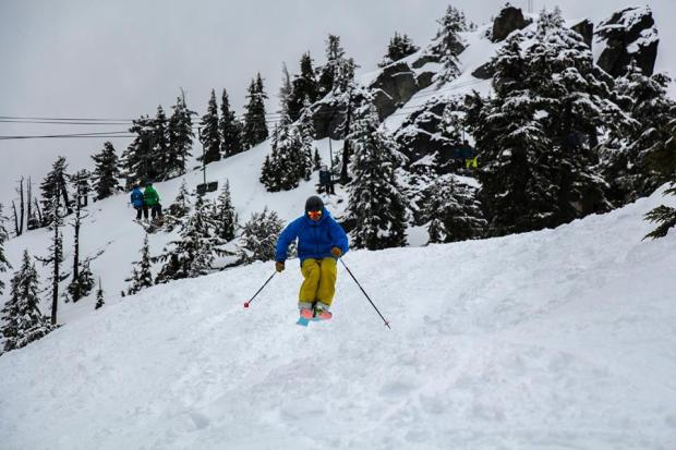 Alpental on February 11th, 2015.