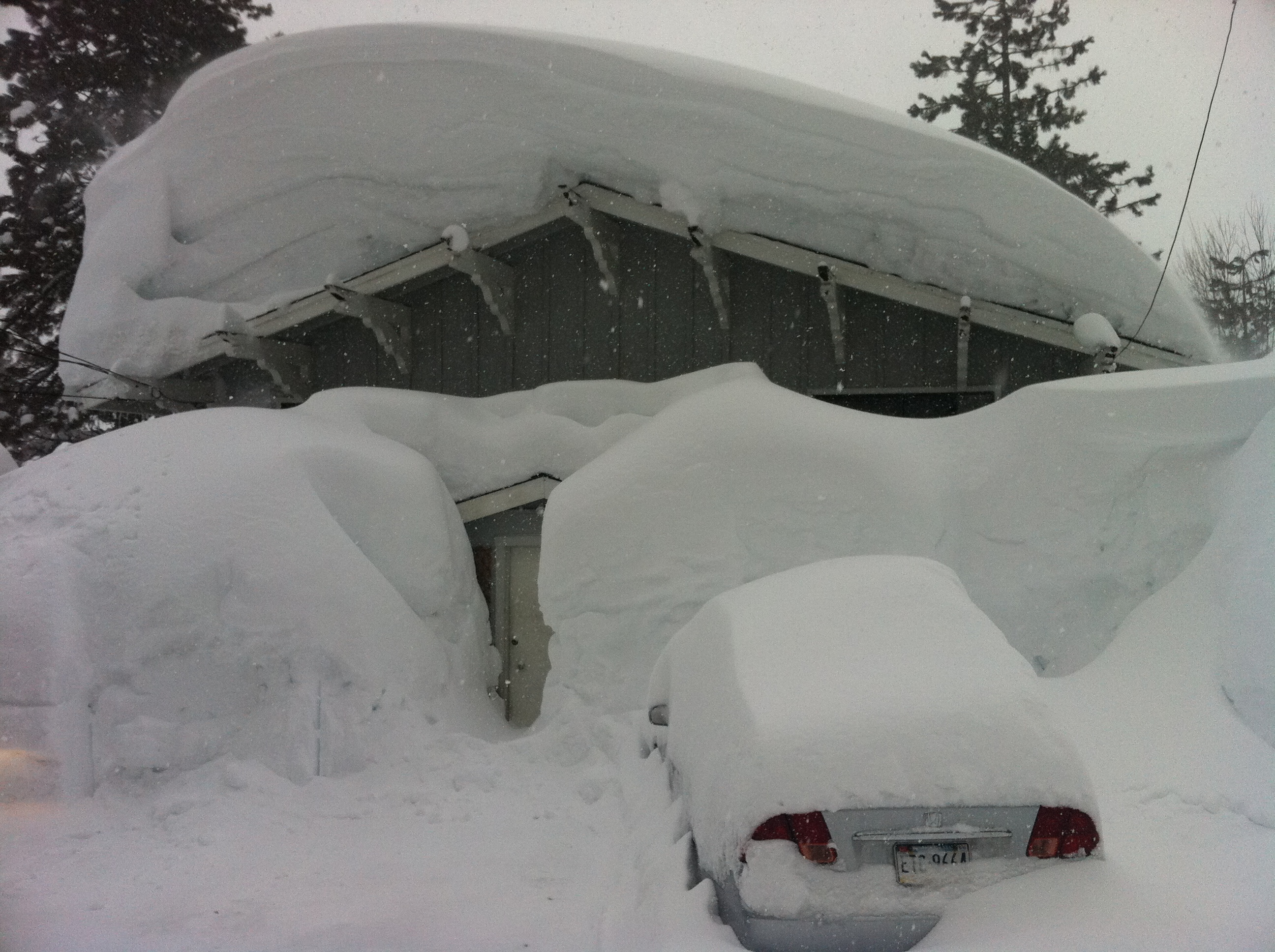 House On Sandy Way In Squaw Valley Ca In March 2011 P O Snow Ins