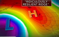 The reason for the 4 year drought is this Ridiculously Resilient Ridge.