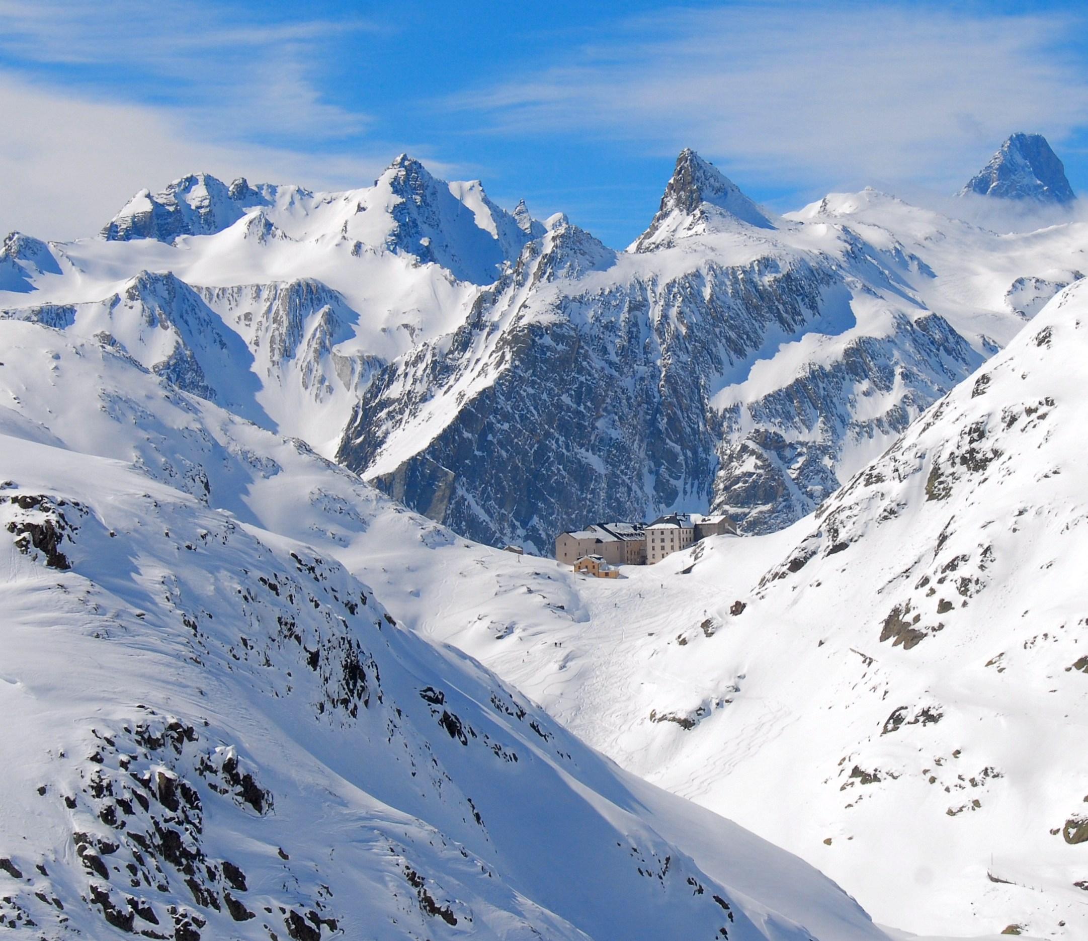 Great Saint Bernard Pass, Switzerland.