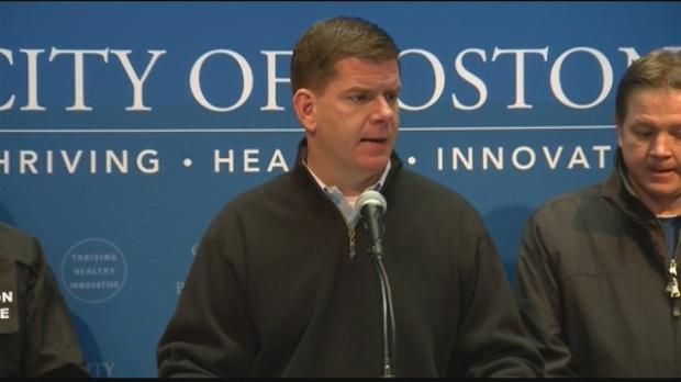 Boston mayor Marty Walsh held a press conference on Sunday (www.wmur.com)