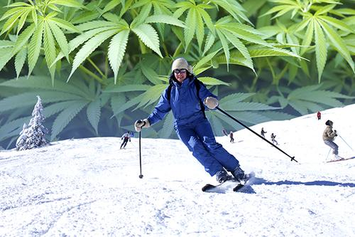 Will legal marijuana boost skier visits in Alaska?