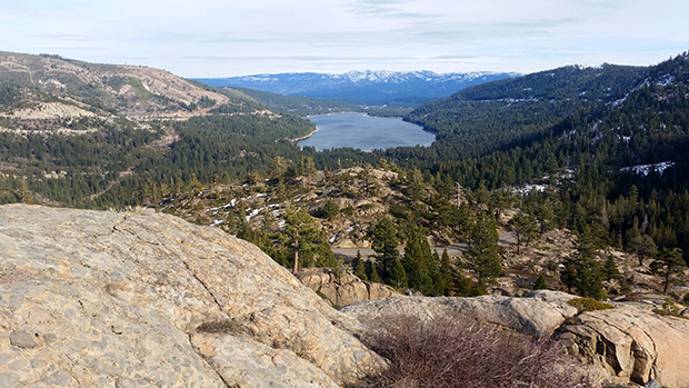 Donner Lake, looking a little like summer