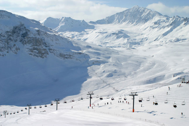 Val d'Isere, France., June
