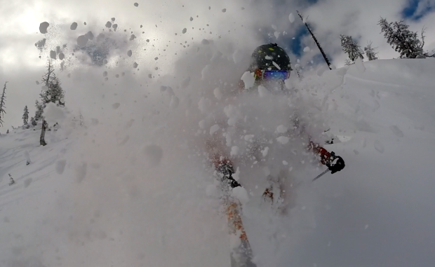 Hitting the sweet spot at Squaw on Sunday