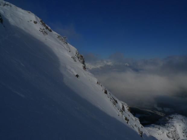 The author getting his ski patrol on. Photo - Jonas Hoke