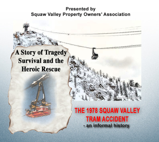 Promotion fo the talk on the 1978 squaw tram accident