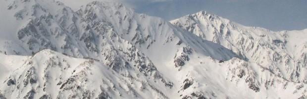 Japanese Alps. photo: hakuba powder lodge