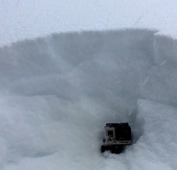 Snow depth up on Mt. Rose Saturday