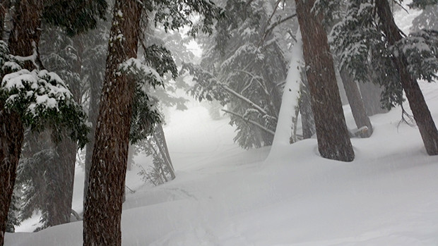 Nuking snow on Mt. Rose Saturday