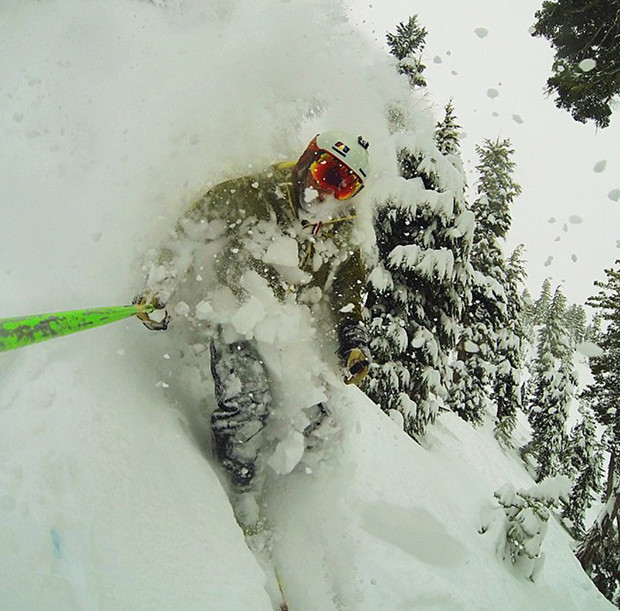 Zach Rickenbach knows where to find the goods at Squaw