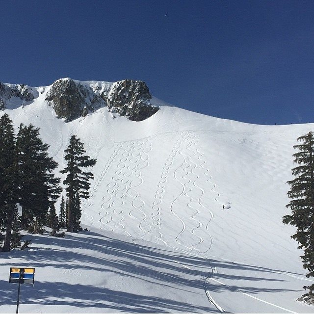 Siberia at Squaw Valley yesterday. photo: squaw