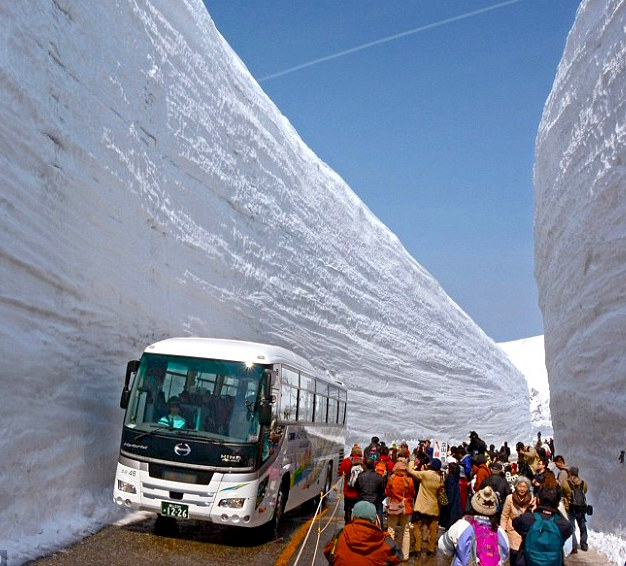 Best Places In The Us To Snowboard: Tateyama Route Opened Today