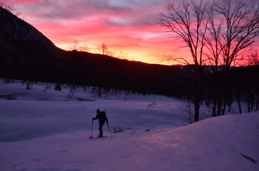 Sunrise Skin, Skier Dave Ellison