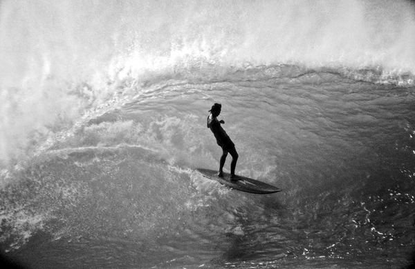 Gerry Lopez is a god on a surfboard.  Pipeline.