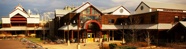 The New Belgium Brewing Co. headquarters in Fort Collins, CO