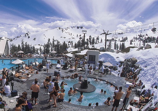 Squaw valley ca extends season snowbrains - High camp swimming pool squaw valley ...