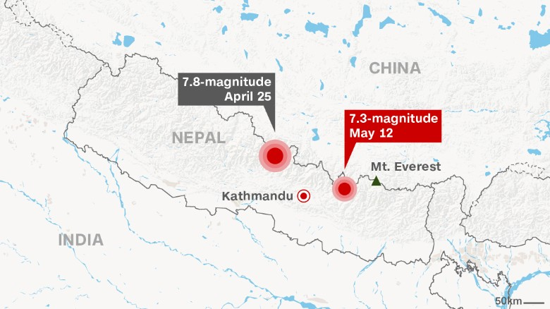 Officials Were Right About 2nd Mt Everest Earthquake 73M