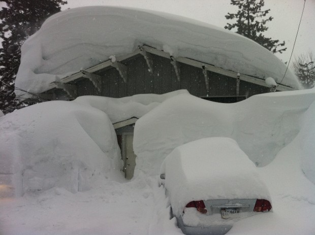 "Up to 852"" of snow fell in the winter of 2010/11 in Lake Tahoe."