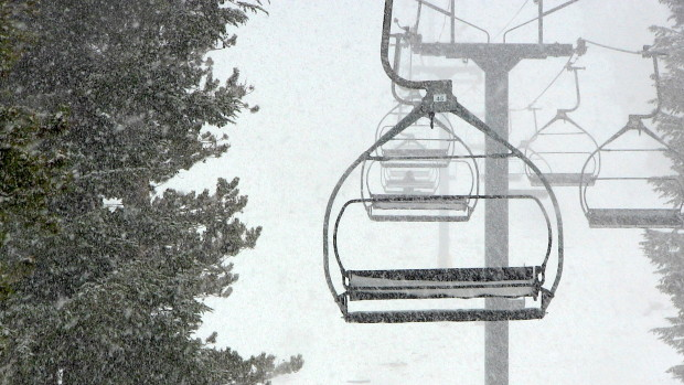 Chair 3 was not crowded today...