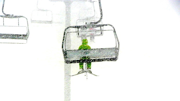 Nuking on Chair 3 today around 1:00pm
