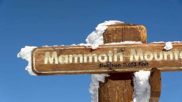 Saturday on the summit at Mammoth.