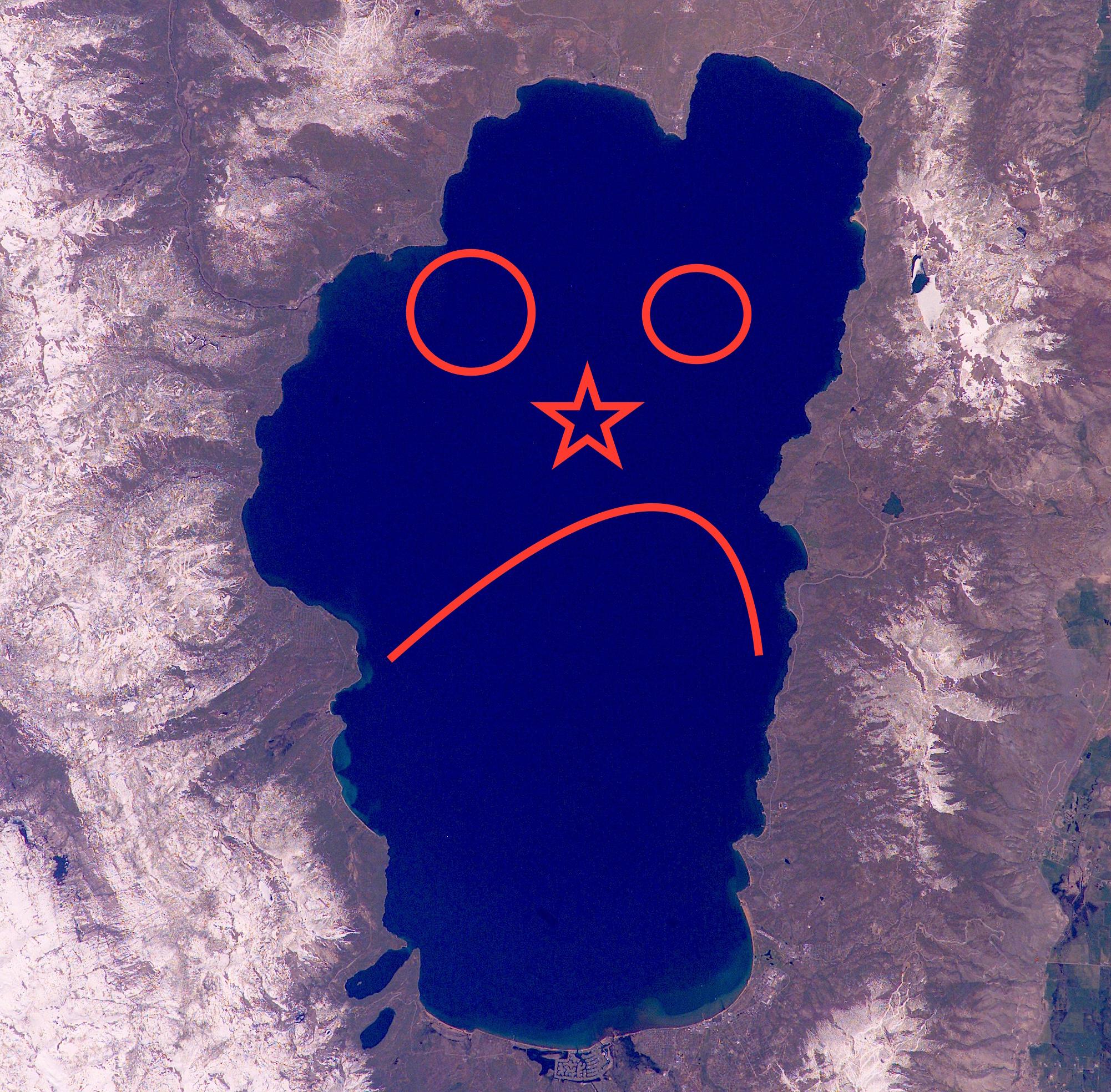 Unhappy Lake Tahoe