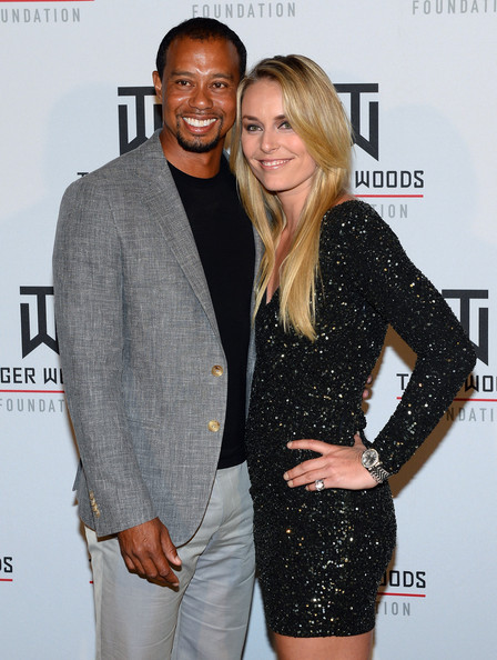 Lindsey and Tiger.
