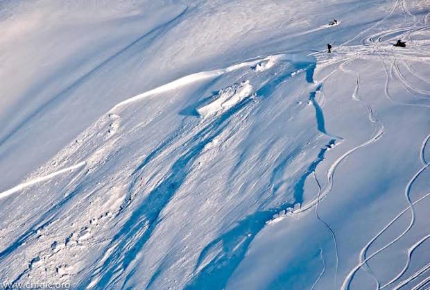 Seattle Creek Avalanche, AK.