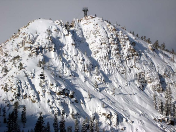 Tram face at Squaw is one of the views locals don't want blocked by the new village.